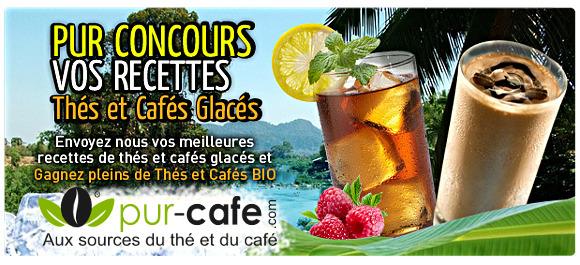 concours café frappé thé glacé