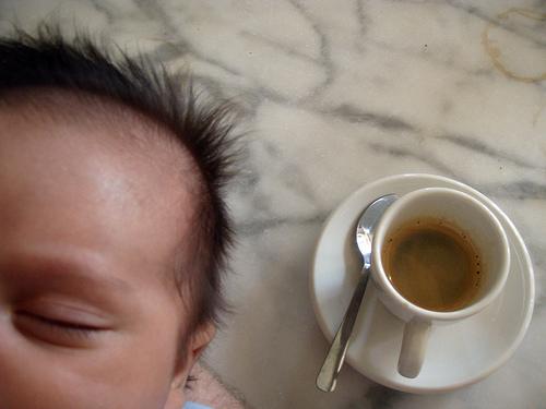 Café et bébé