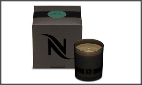 Bougie café Nespresso