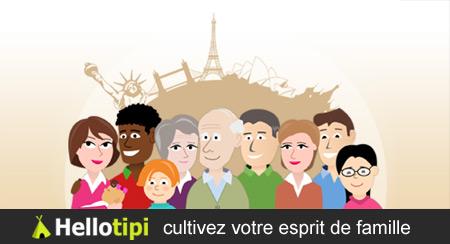 Hellotipi, pour créer son réseau familial