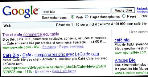 google café bio