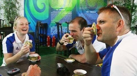 thé jeux olympique