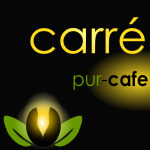 logo carré pur café