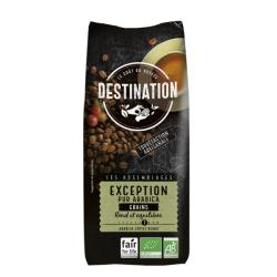 Café en Grains Bio Equitable - Exception 100% Arabica - 1Kg