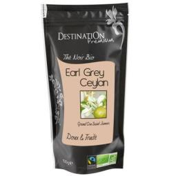 Thé Noir Bio Equitable - Earl Grey St James FBOP Bergamote - 100g