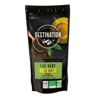 Thé Vert Bio Equitable - Earl Grey St James Bergamote - 80g